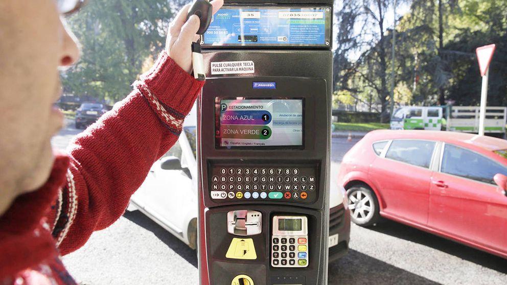 Un empleado truca los parquímetros de Madrid y roba más de 45.000 euros