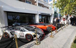 Lamborghini ya tiene concesionario en Madrid