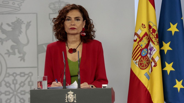 Foto: María Jesús Montero en una rueda de prensa. (EFE)