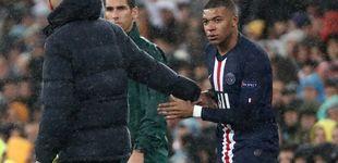 Post de La tierna carta de Kylian Mbappé con Zidane y el reloj de arena del Real Madrid