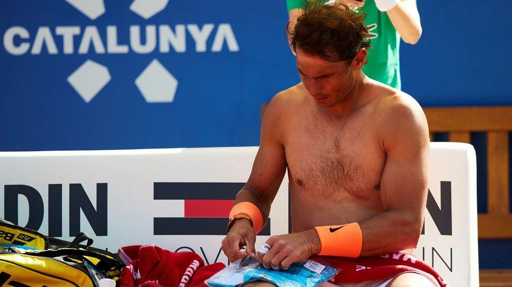 Foto: Rafa Nadal en su encuentro de este miércoles ante Mayer. (EFE)