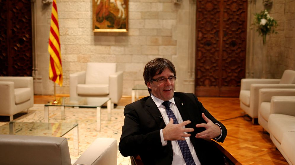Foto: El 'president' de la Generalitat, Carles Puigdemont. (Reuters)