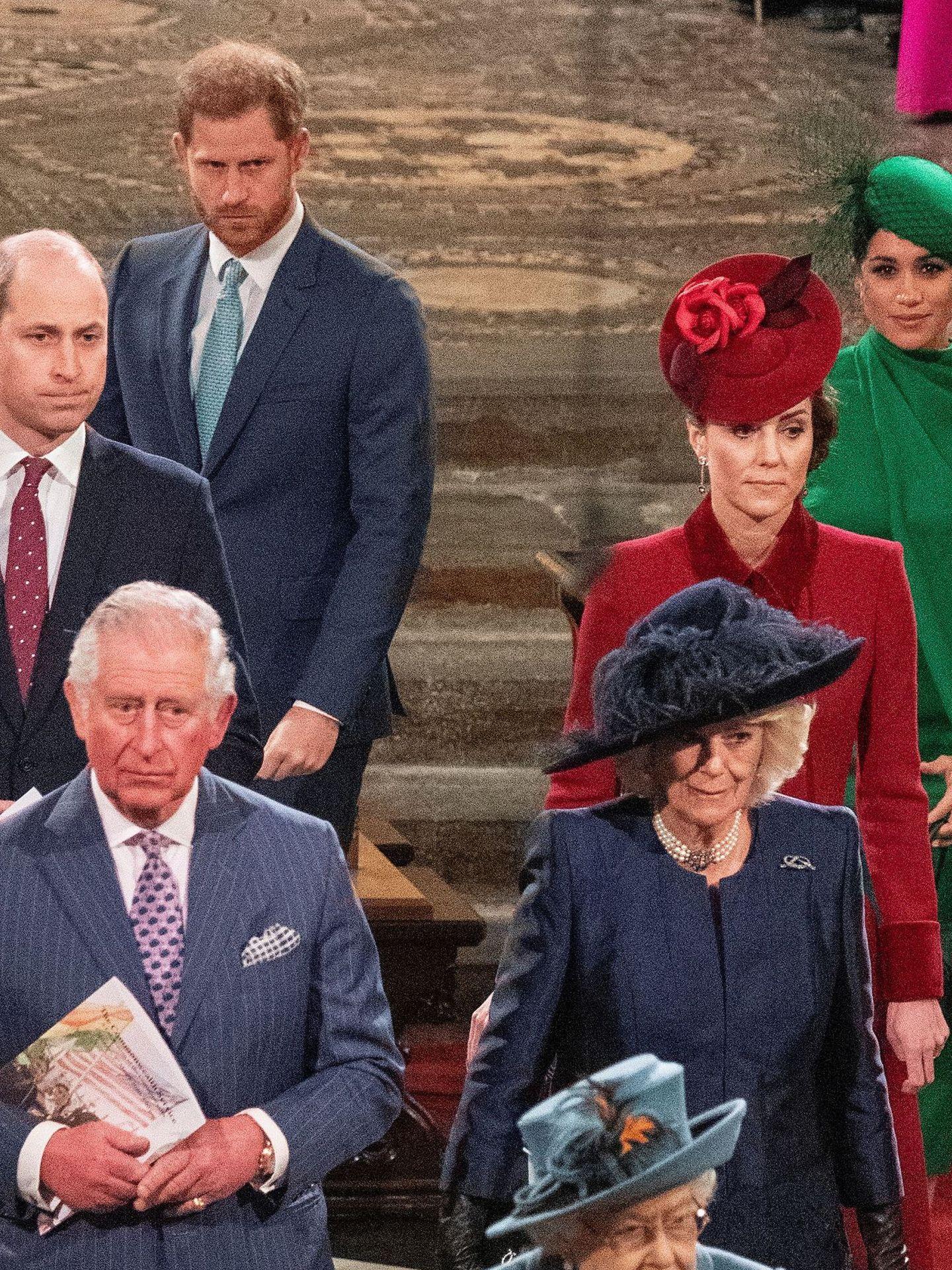 La familia real. (Reuters)