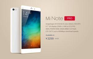 Xiaomi golpea a los 'phablets': así es el Mi Note