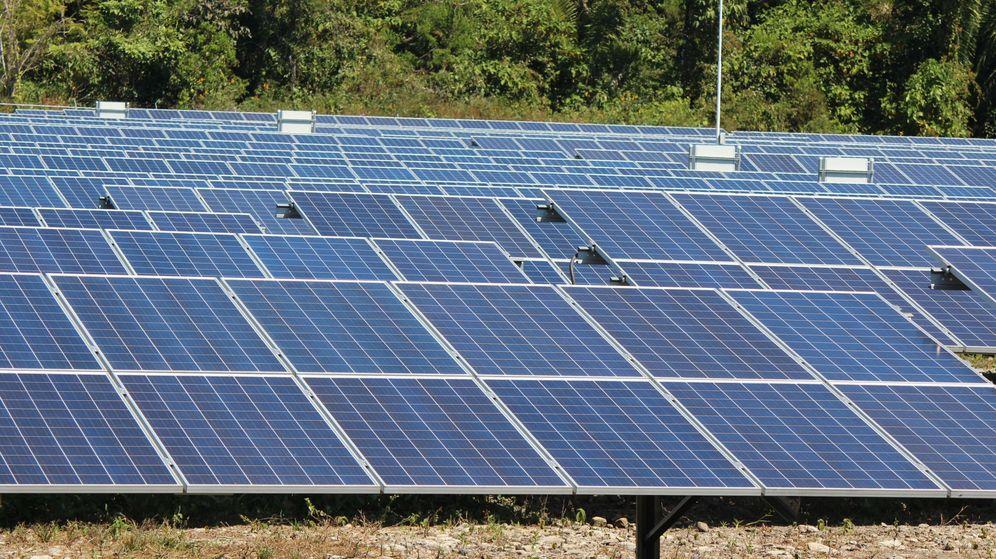 Foto: Imagen de archivo de una planta solar. (EFE)