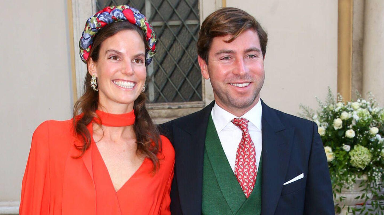 Astrid de Liechtenstein, con su prometido.  (Gtres)