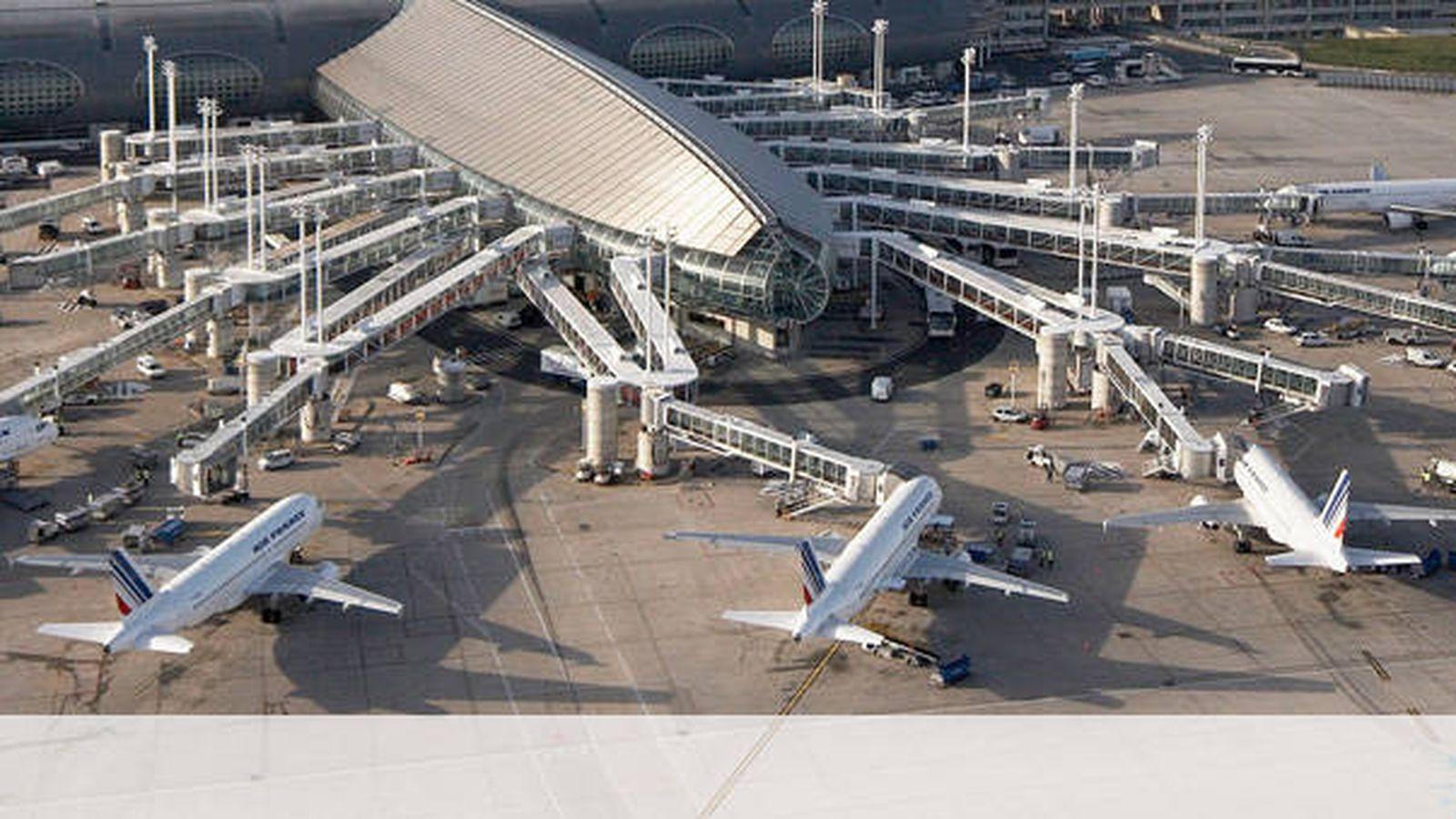 Foto: Aeropuerto Charles De Gaulle, en París.