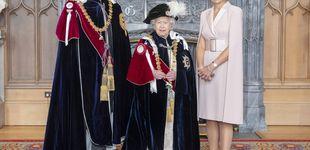 Post de Máxima de Holanda: 'menos es más' (y sin tocado) para triunfar junto a la reina Isabel