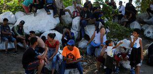 Post de Cientos de migrantes llegan a México tras atravesar el río que lo separa de Guatemala