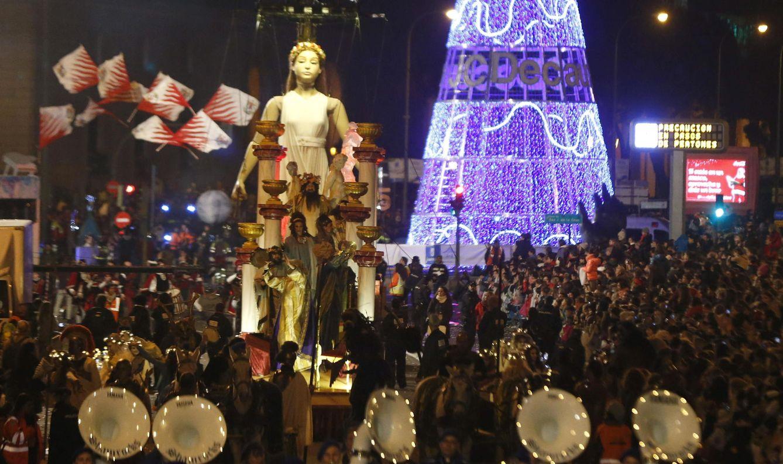 Foto: Cabalgata de los Reyes Magos en Madrid el pasado año. (EFE)