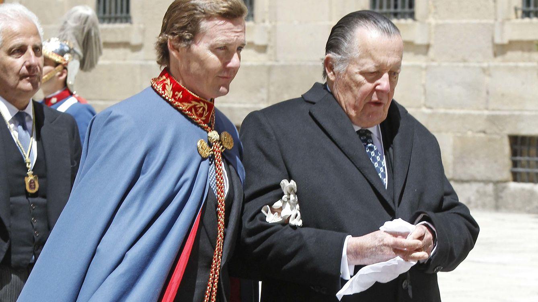 Foto: Carlos de Borbón Dos Sicilias y su hijo Pedro (Gtres)