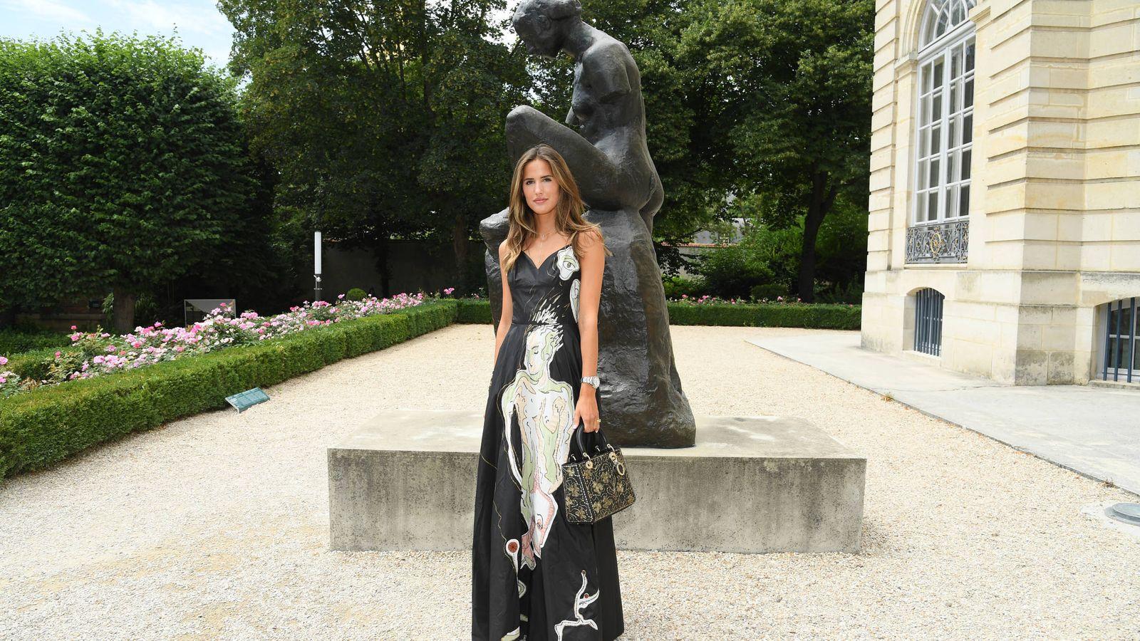 Foto: Alex Rivière, idealísima, en el desfile de Dior. (Getty)