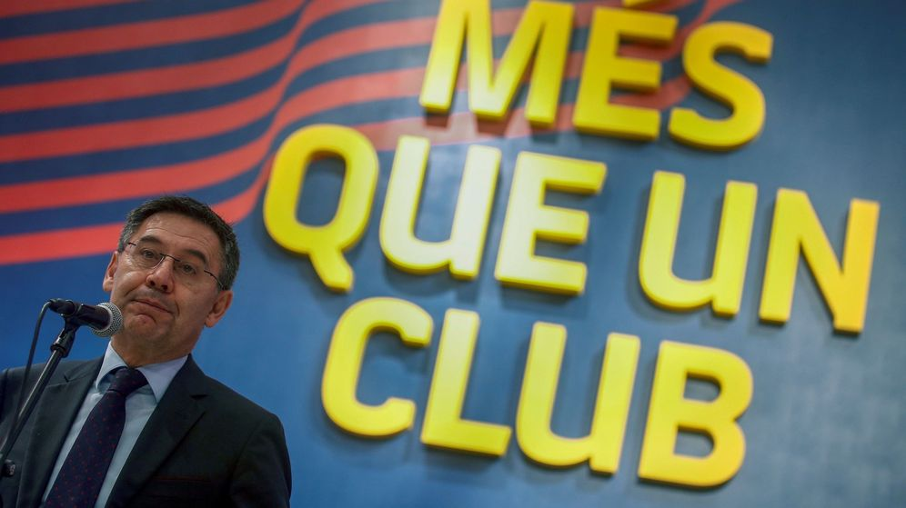 Foto: Josep María Bartomeu, presidente del FC Barcelona. (Efe)
