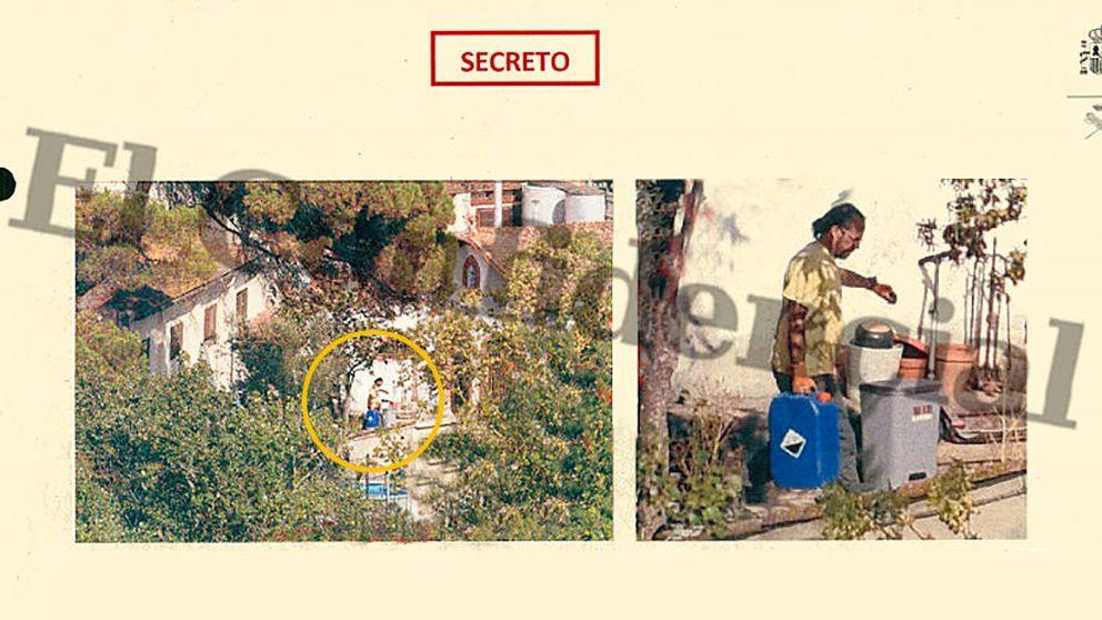 Una casa familiar con explosivos y notas de esquema bomba: así se registró a los CDR