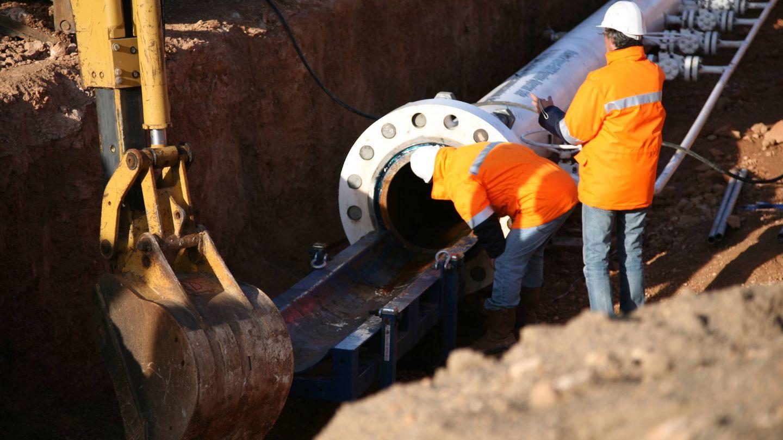 Gasoducto submarino en Argelia. (Medgaz)