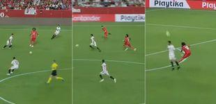 Post de Marcelo y su día para el olvido: errores en los tres goles del Sevilla y lesión final