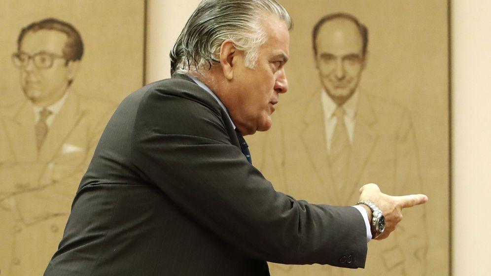 Foto: Luis Bárcenas, en su comparecencia en el Congreso de los Diputados a finales de junio.