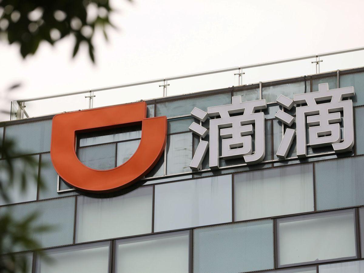 Foto: Logo de DiDi. (Reuters)