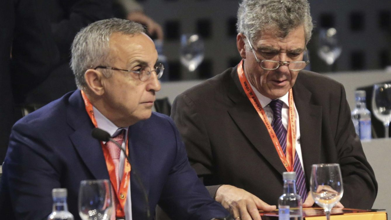 José María García y Alejandro Blanco 'tutelan' la salida de Villar de la Federación