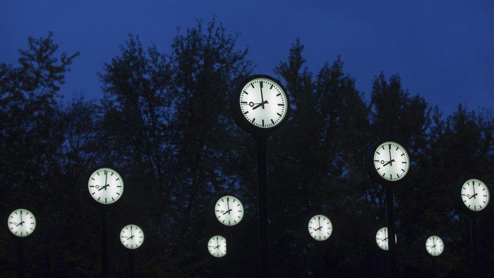 Foto: Cambio de hora (EFE)