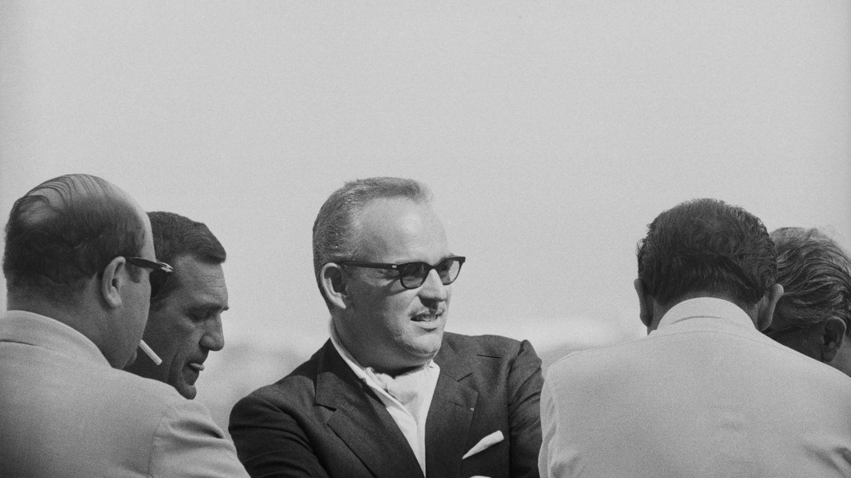El príncipe Rainiero, en Mallorca en 1961. (Getty)