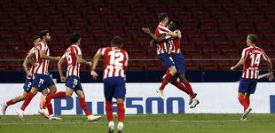 Post de Llorente es la luz de un Atlético que sigue en racha y ya huele a Champions