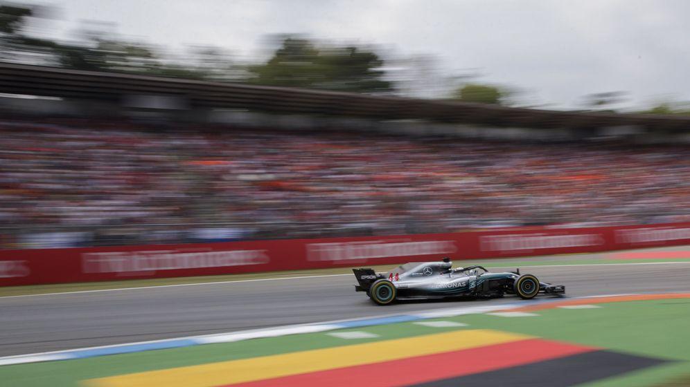 Foto: Lewis Hamilton durante el pasado Gran Premio de Alemania. (EFE)