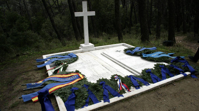 Las tumbas de Pablo y Federica de Grecia. (Getty)