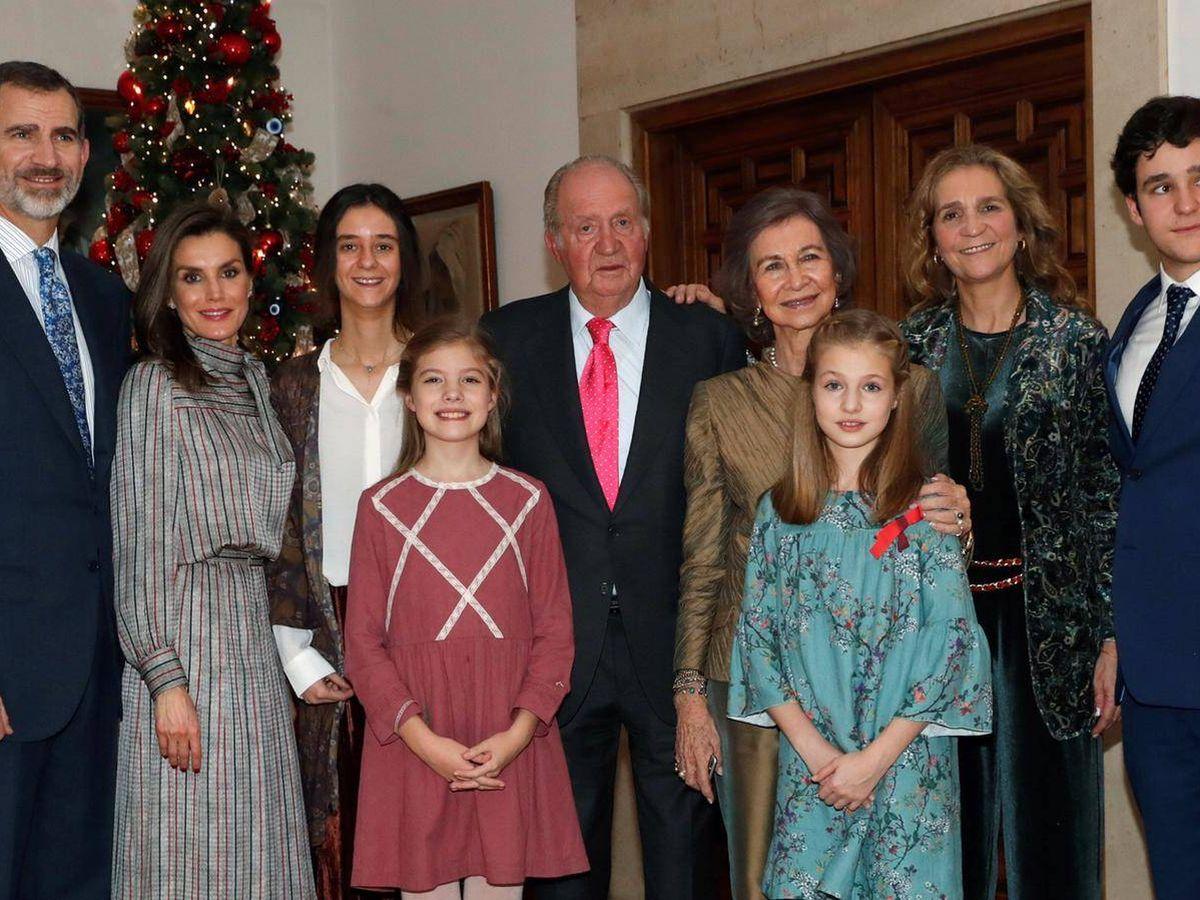 Foto: El 80 cumpleaños del Rey emérito. (Casa Real)