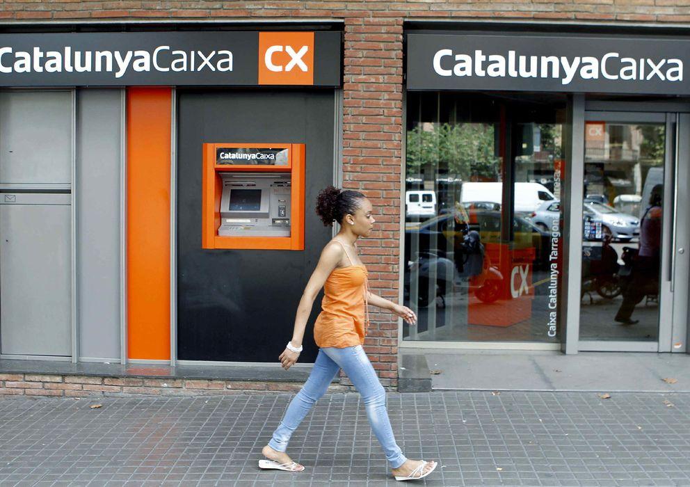 Foto: Vista de una sucursal de CatalunyaCaixa en Barcelona. (EFE)