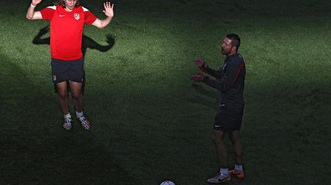 El Cholo Simeone recupera a un Filipe Luis al que lloró desde el minuto uno