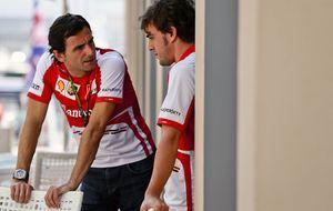 El día que Pedro de la Rosa, en la pista, 'ordenó' a Fernando Alonso, en el simulador