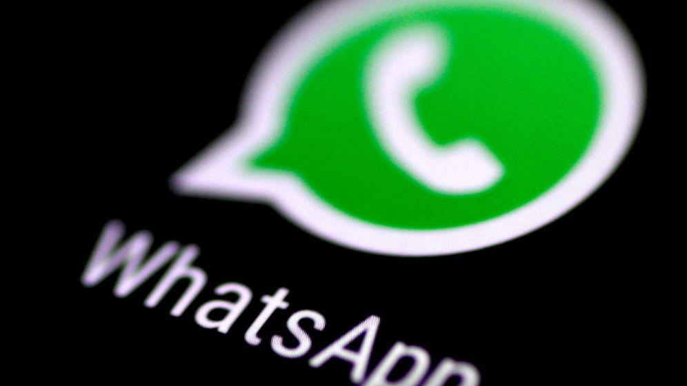 Foto: Logo de Whatsapp (Reuters)