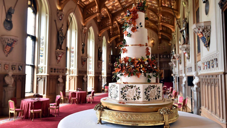 La recepción de la boda de Eugenia de York y Jack Brooksbank. (Getty)