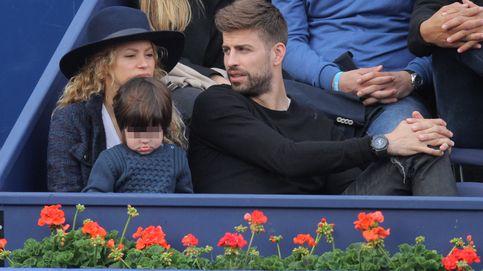 Milan Piqué, un pequeño aficionado al tenis