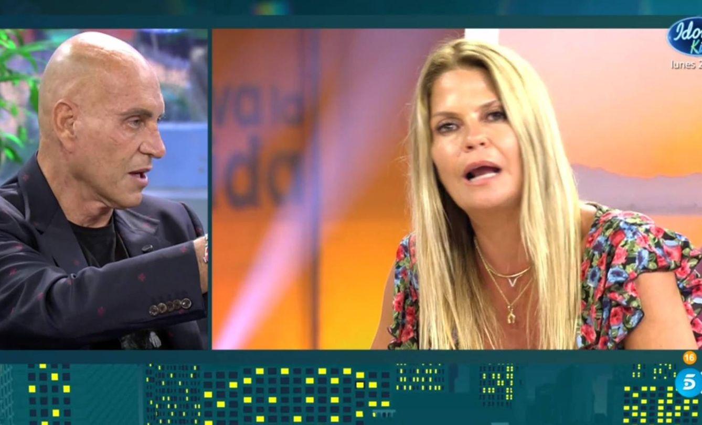 Kiko Matamoros, en 'Sábado Deluxe'. (Telecinco).