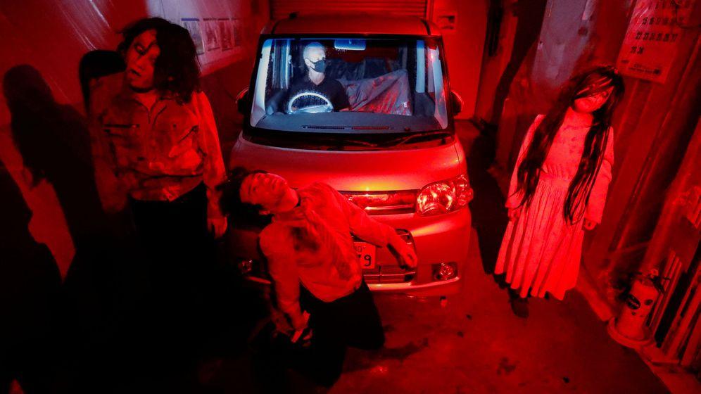 Foto: Los actores garantizan casi veinte minutos de mucho miedo para todos los ocupantes del coche Reuters/Issei Kato)
