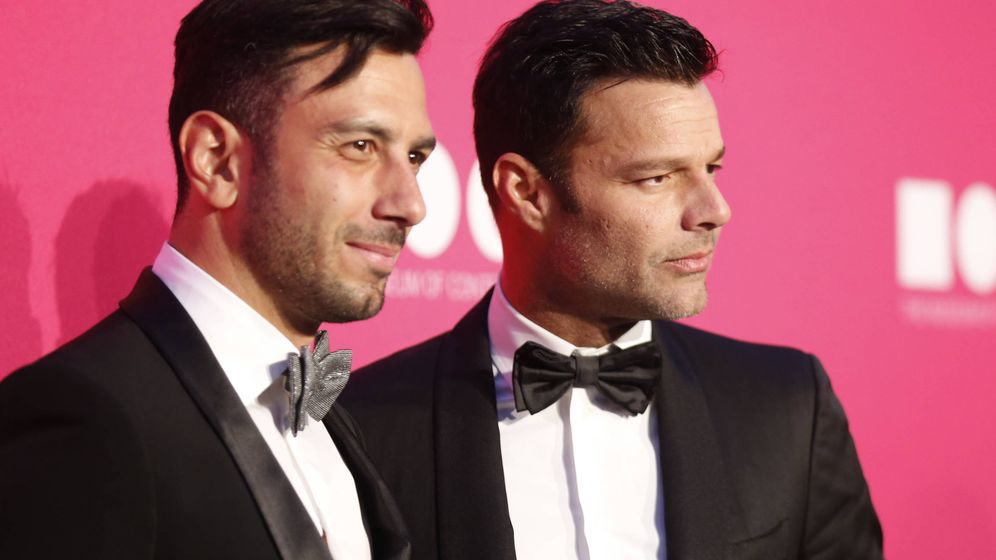 Foto: El cantante Ricky Martin y su novio, Jwan Yosef, en una imagen de archivo. (Gtres)