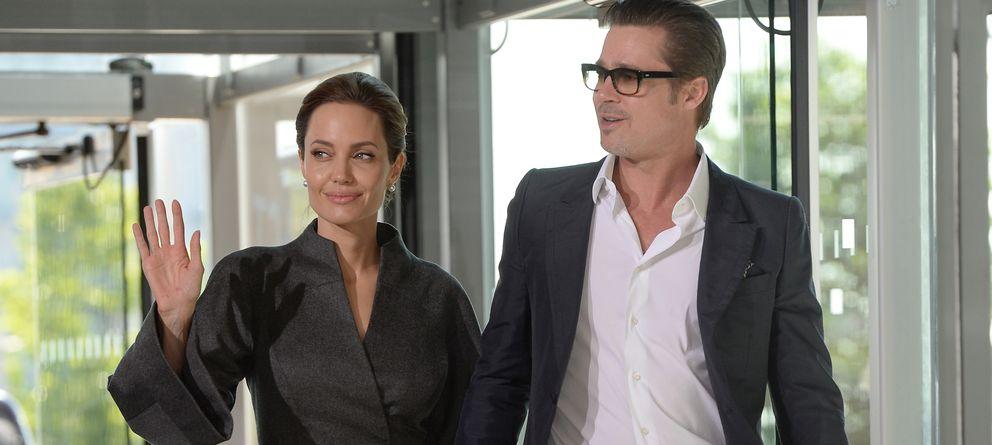 Foto: Angelina Jolie y Brad Pitt en una fotografía de archivo (Gtres)