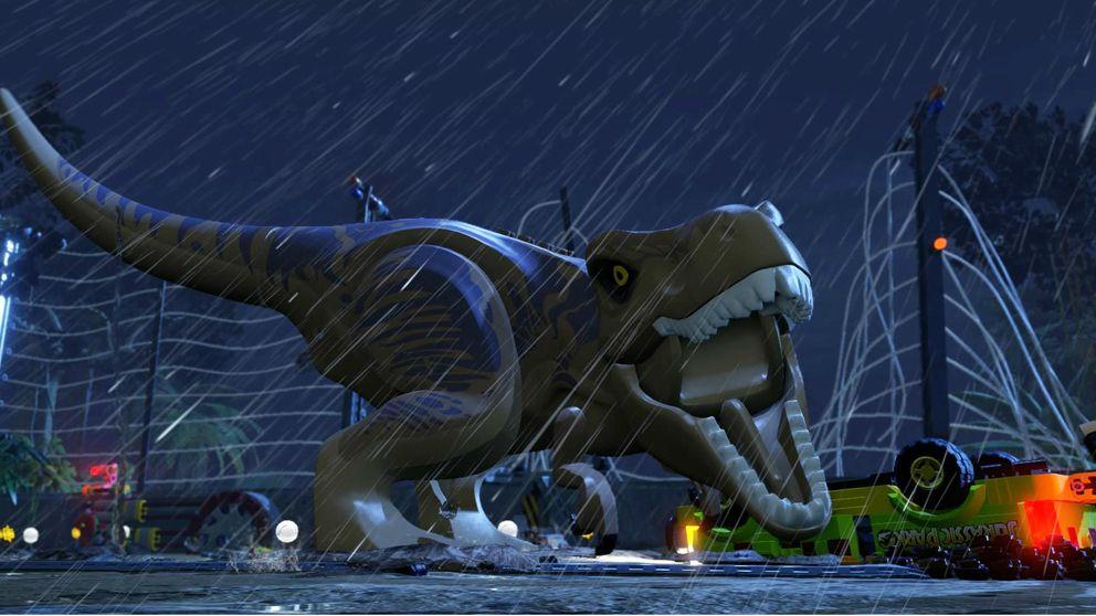 Lego Jurassic World cambia miedo por risas para superar a la película