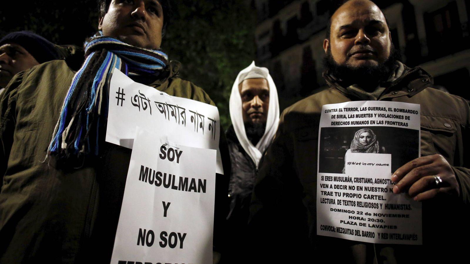 Foto: Manifestación celebrada en Madrid en solidaridad con las víctimas de los ataques de París, en noviembre de 2015. (Reuters)