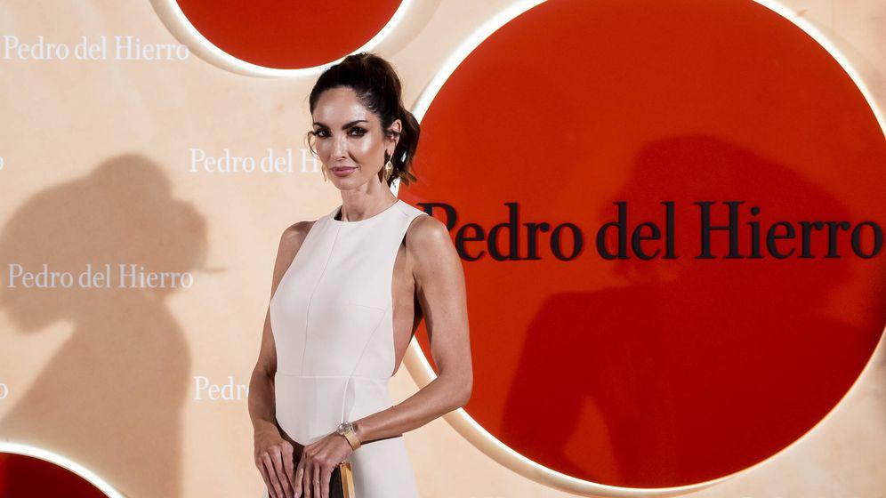 Foto: Eugenia Silva con el vestido en cuestión. (Getty)