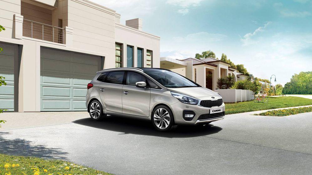 Foto: Kia Carens, el coche más vendido en agosto en España.