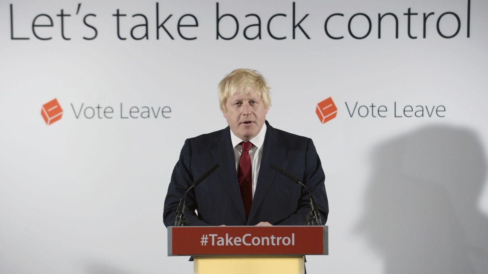 """Foto: Boris Johnson considera que el 'Brexit' es una """"oportunidad gloriosa"""" para Reino Unido (Reuters)."""