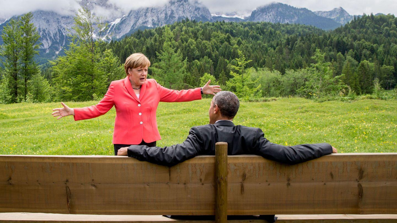 Angela Merkel con Barack Obama, en una imagen de archivo. (Reuters)