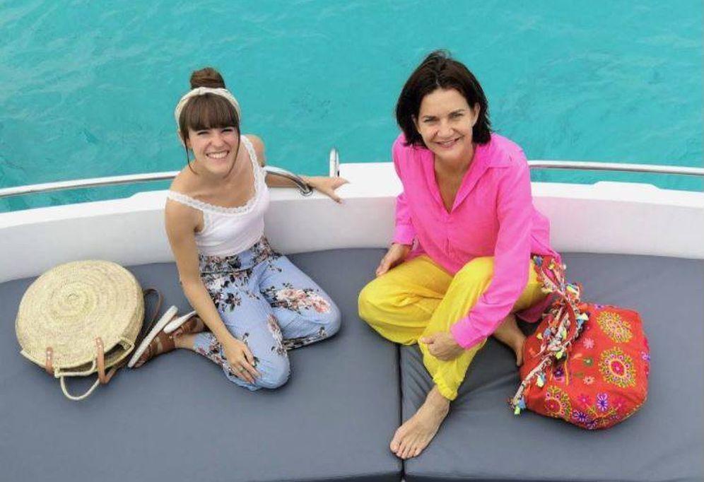 Foto: Samantha en Maldivas. (Redes)