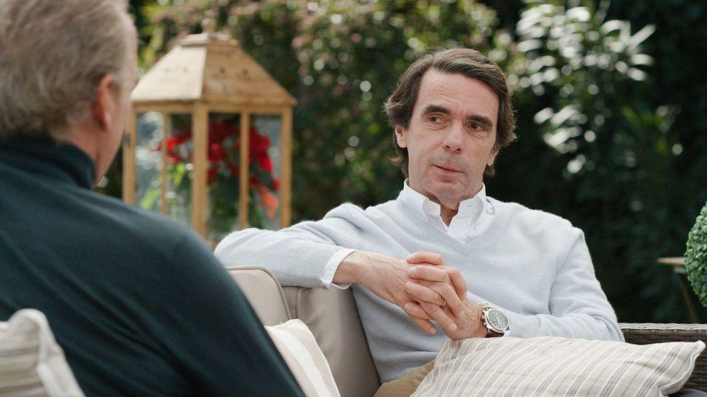 Foto: José María Aznar en 'Mi casa es la tuya'.