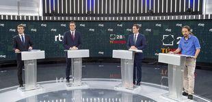 Post de El menos visto: el debate electoral de TVE roza los 8,9 millones