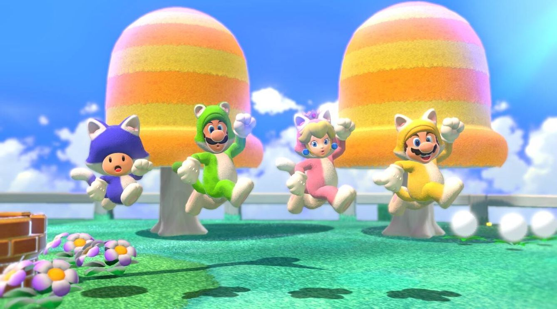 Foto: Detalle de Super Mario 3D World. (Foto: Nintendo)