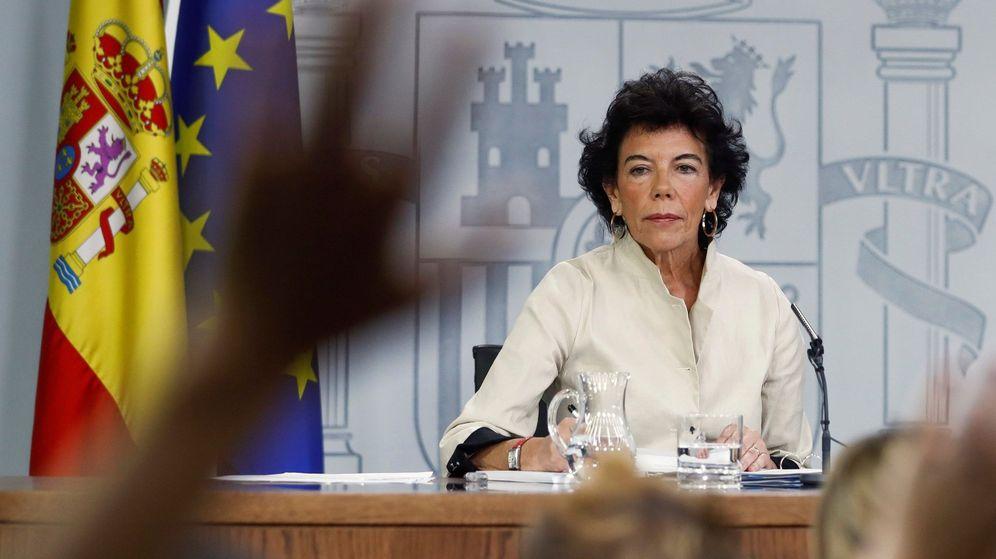 Foto: La ministra portavoz Isabel Celaá. (EFE)